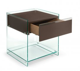 Dino Bedside Table End Tables by Fiam