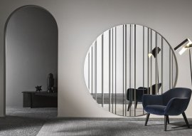 Barcode Mirror by Tonelli