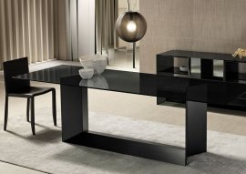 T5 Glass Dining Table by Tonelli