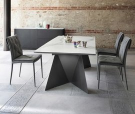 Euclide A Dining Table by DomItalia