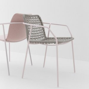 Sey Armchair by Billiani