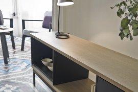 Slats Sideboard Cabinet by Punt Mobles