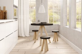 Flak Table Dining Table by Punt Mobles