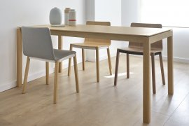 Tyris Dining Chair Chair by Punt Mobles