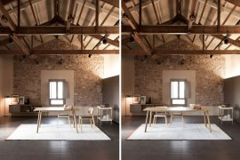 Transalpina Dining Table by Punt Mobles