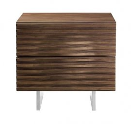 Moon Nightstand End Table by Casabianca