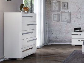 Wave Chest Dresser Cabinet by Casabianca