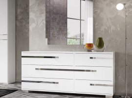Wave Dresser Cabinet by Casabianca