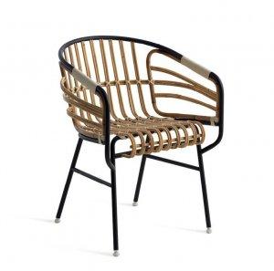 Raphia Rattan Chair by Casamania