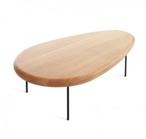 Lily Wood Table by Casamania