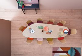 Tweed Dining Table by Zanotta
