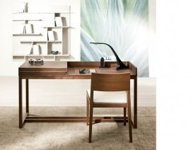 Athena Wooden Desk by Pacini & Cappellini