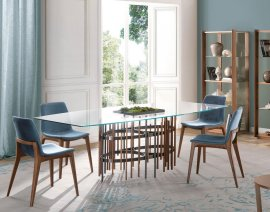 Tube Dining Table by Pacini & Cappellini