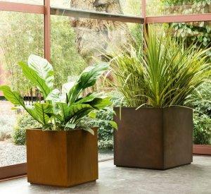 Cube Pot Planters & Pots by De Castelli