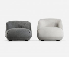 Brioni Up Lounge Chair Sofa by Kristalia