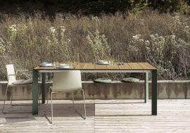 Nori Slatted Table by Kristalia