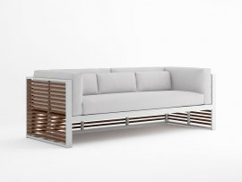 DNA Teak Sofa by Gandia Blasco