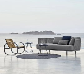 Moments 3-Seater Outdoor Sofa  by Cane-line