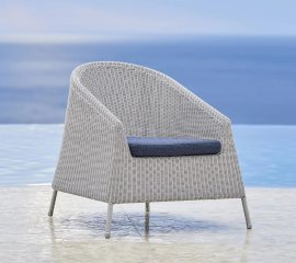 Kingston Lounge Chair by Cane-line