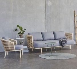 Sense 3-Seater Sofa by Cane-line