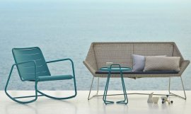 Breeze 2-Seater Sofa by Cane-line