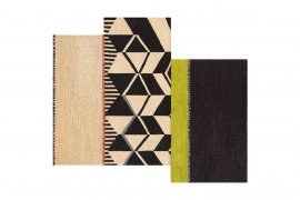 Spaces Rustic Chic Geo Rugs by Gan Rugs