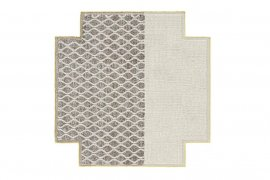 Spaces Mangas Rhombus Square Rugs by Gan Rugs