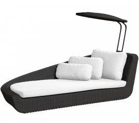 Savannah Daybed Lounger by Cane-line