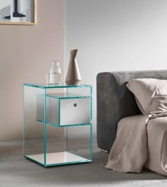 Liber F End Table by Tonelli