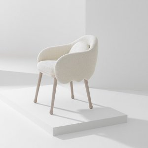 Corolla Armchair by Billiani