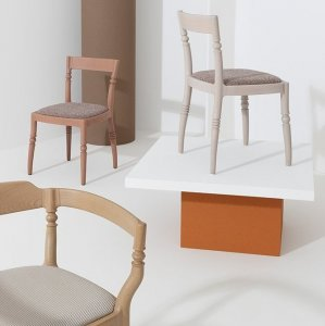 Toccata & Fuga Dining Chairs by Billiani
