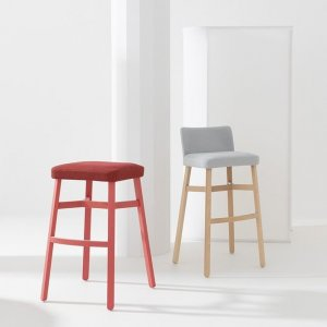 Croissant Stool by Billiani