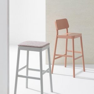Drum Stool by Billiani
