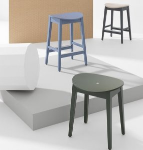 Gradisca Stool by Billiani
