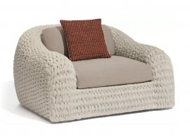 Kobo Lounge Chair by Manutti