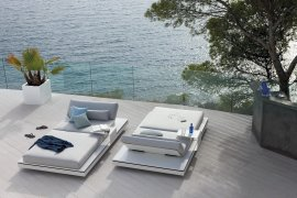 Elements Lounger Sunbeds by Manutti
