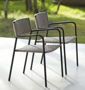 Echo Dining Chair by Manutti