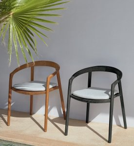 Solid Dining Chair by Manutti
