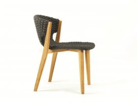 Knit Dining Chair by Ethimo