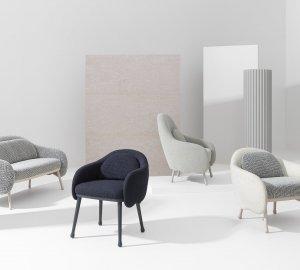 Corolla Lounge Chair by Billiani