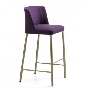 Virginia Metal Stool by Arrmet