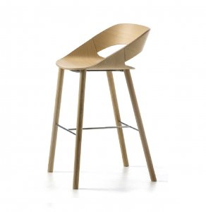 Kabira Wooden Stool by Arrmet