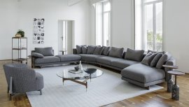 Abacus Sofa by Porada