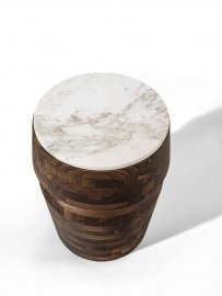 Bouchon Marmo End Table by Porada