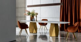 Deod Two Base Dining Table by Sovet