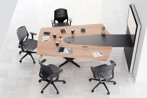 Power Desk Conference Table by Actiu