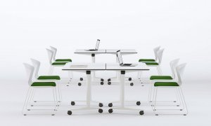 Talent Table Desk by Actiu