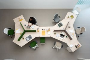 Twist Desk by Actiu