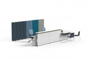 360 Office Divider Screens by Actiu