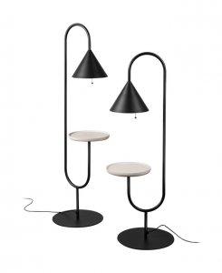 Ozz Floor Lamp Lighting by Miniforms